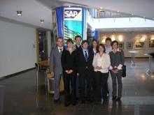 Studienfahrt zur SAP nach Walldorf