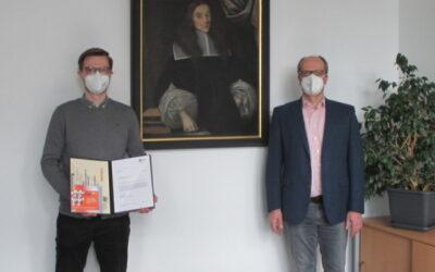 Die Examenspreise des Jahres 2020 gehen an Lisa-Maria Gerhardt und Patrick Bareinz